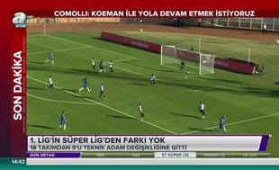 1. Lig'in Süper Lig'den farkı yok