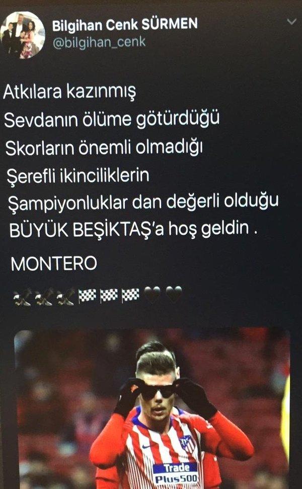 besiktas yoneticisi francisco montero transferini duyurdu 1598694727546 - Beşiktaş yöneticisi Francisco Montero transferini duyurdu!