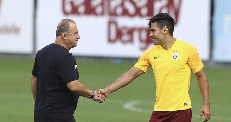 Falcao'dan Galatasaraylıları heyecanlandıran istek!