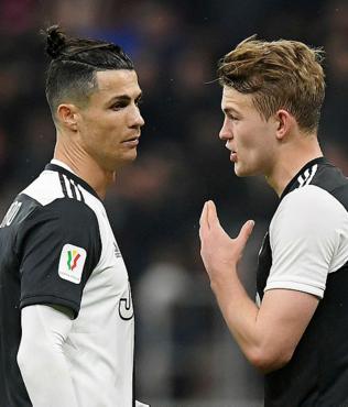"""De Ligt'ten Cristiano Ronaldo'ya büyük övgü! """"Jenerasyonunun en iyisi"""""""