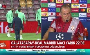 Fatih Terim: Grup sırlamasında kritik maçlardan biri
