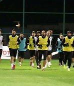 A Milli Futbol Takımı, Konya'ya gitti