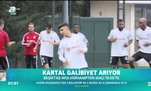 Beşiktaş galibiyet arıyor