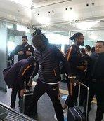 Galatasaray Benfica maçı için Lizbon'a gitti