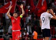 Türkiye - Fransa maçından kareler...