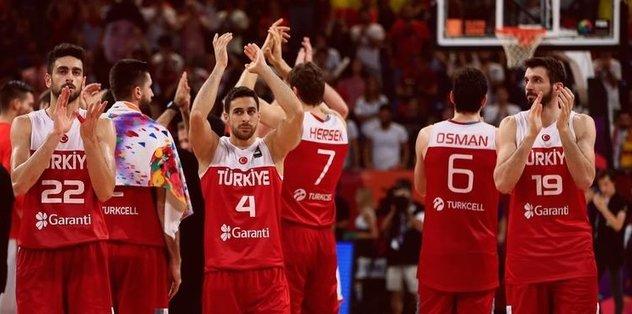A Milli Basketbol Takımı'nın 967. randevusu
