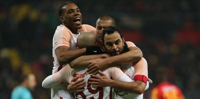 Galatasaray defeat Kayserispor 3-1