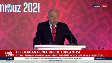 Nihat Özdemir'den seyirci açıklaması!