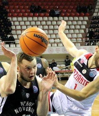 Gaziantep Basketbol 79-76 Nizhny | MAÇ SONUCU