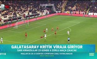 Galatasaray kritik viraja giriyor