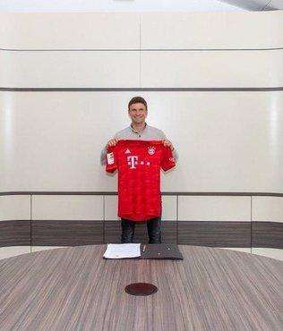 Bayern Münih Thomas Müller ile sözleşme uzattı!