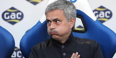 Bir şok da Mourinho'ya
