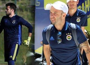Fenerbahçe, Düzcede ilk antrenmanını yaptı .