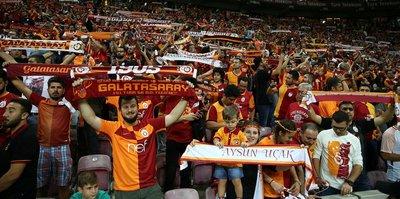 Galatasaray şaha kalktı