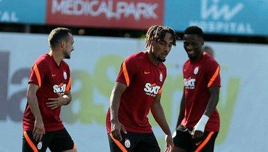 Son dakika spor haberleri: Galatasaray PSV Eindhoven maçına hazır! Yeni transfer Sacha Boey ilk idmanına çıktı