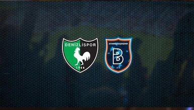 Denizlispor-Medipol Başakşehir maçı CANLI