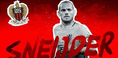 Nice, Sneijder'i resmen açıkladı