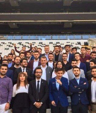Fikret Orman, üniversiteli Beşiktaşlılarla buluştu