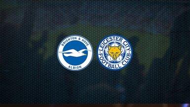 Brighton - Leicester City maçı ne zaman, saat kaçta ve hangi kanalda canlı yayınlanacak?   İngiltere Premier Lig