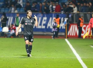 Kasımpaşa - Beşiktaş maçından kareler