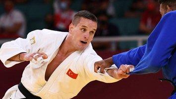 Milli judocu Zgank Tokyo'da çeyrek finalde!