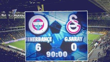6-0'lık zafer unutulmaz!..