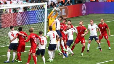 İngiltere Danimarka maçında savunma rekoru!