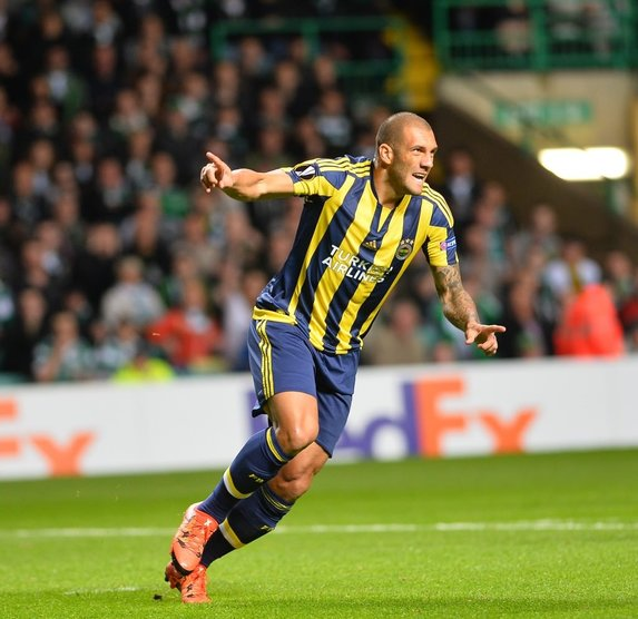Celtic-Fenerbahçe maçından kareler