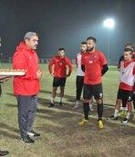 Başkan Alıcık'tan futbolculara tatlı sürpriz