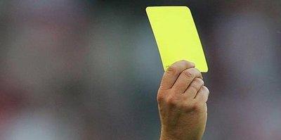 Dokuz futbolcu kart sınırında