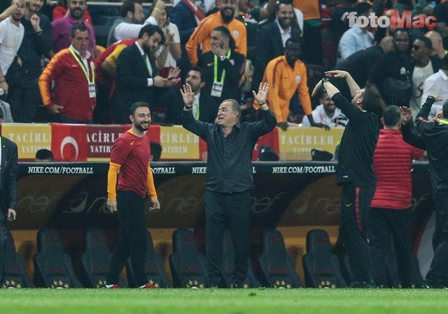 Galatasaray-Başakşehir maçından fotoğraflar