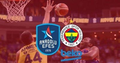Anadolu Efes Fenerbahçe Beko şampiyonluk maçı ne zaman saat kaçta hangi kanalda? CANLI yayın bilgileri...