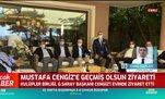 Kulüpler Birliği'nden Mustafa Cengiz'e ziyaret