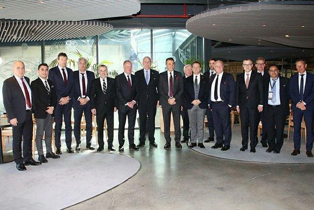 Beşiktaş ve Bayern yöneticileri bir arada
