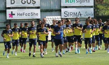 Fenerbahçe'de mesai başladı