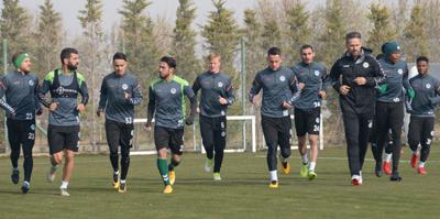 Konyaspor'da Guimaraes hazırlıkları