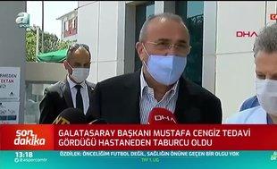 Albayrak ve Günay, Cengiz'in son durumunu açıkladı
