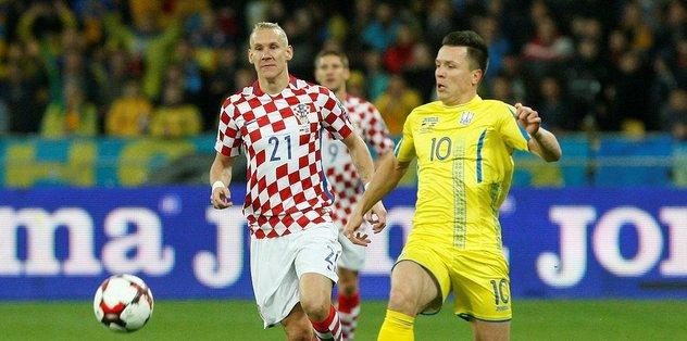 Play-off bileti Hırvatistan'ın