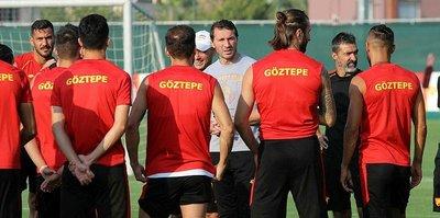 Göztepe, Trabzonspor maçı için ilk çalışmasını yaptı