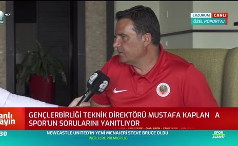 Mustafa Kaplan: 3-4 transfer daha yapacağız