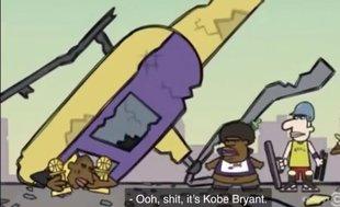 Kobe Bryant'ın helikopter kazasında öleceğini önceden bilen çizgi filmin şaşkınlığı yaşanıyor