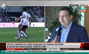 """Ali Şafak Öztürk: """"Eto'o'nun ayrılışı doğru şekilde olmadı"""""""