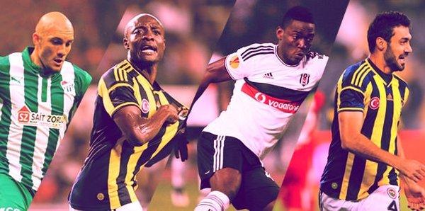 Süper Lig'in serbest kalan yıldızları