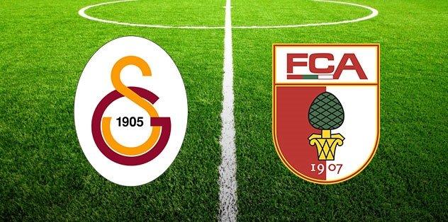 Galatasaray Augsburg hazırlık maçı ne zaman saat kaçta hangi kanalda? CANLI yayın bilgileri...