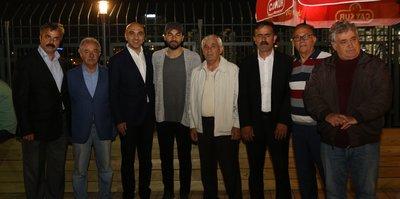 Selçuk İnan'dan Osmaniye İstiklal Spor Kulübü'ne ziyaret