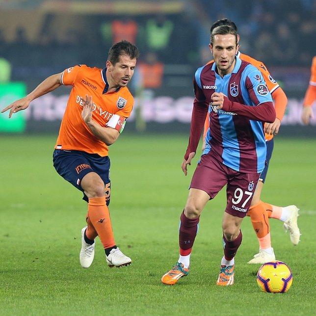 Trabzonspor - Başakşehir maçından kareler