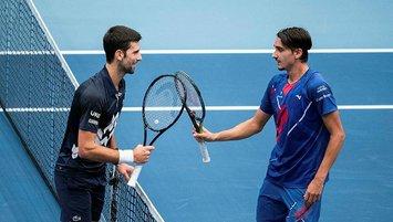 Djokovic Viyana'da çeyrek finalde elendi