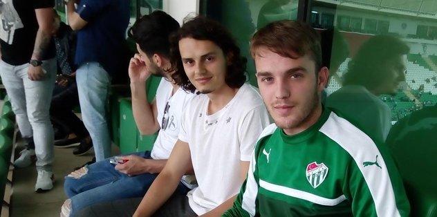 Enes Ünal Bursaspor'u izledi