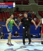 Dünya Güreş Şampiyonası'nda yarı finaldeyiz