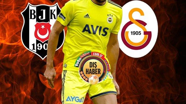 Fenerbahçe'nin eski futbolcusu Vedat Muriqi için Beşiktaş ve Galatasaray devrede